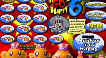 Affen gehen glücklich 6